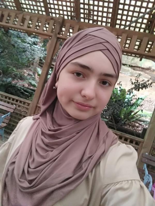 Women head scarf hijab.